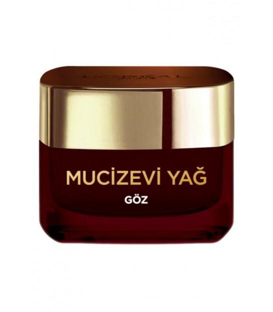 کرم معجزه آسا دور چشم لورال -Miraculous Oil Daily Eye Care Cream 15 Ml