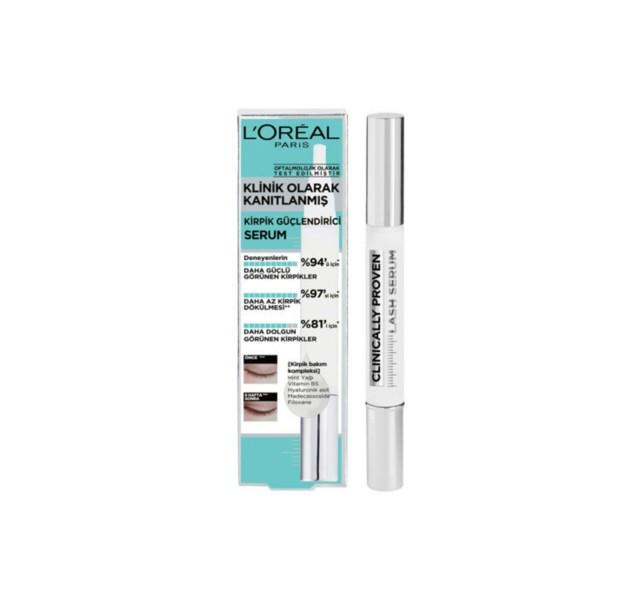 سرم تقویت کننده مژه لورال -L'oréal Paris Clinically Proven Eyelash Booster Serum