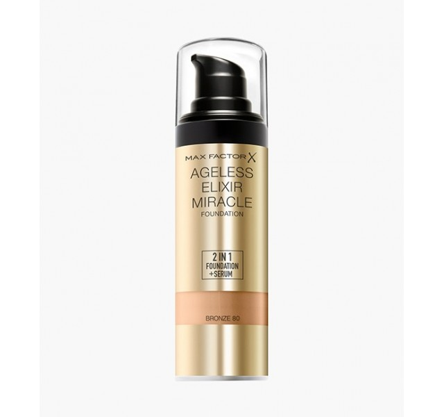 کرم پودر مکس فکتور مدل Max Factor Ageless Elixir Miracle Foundation