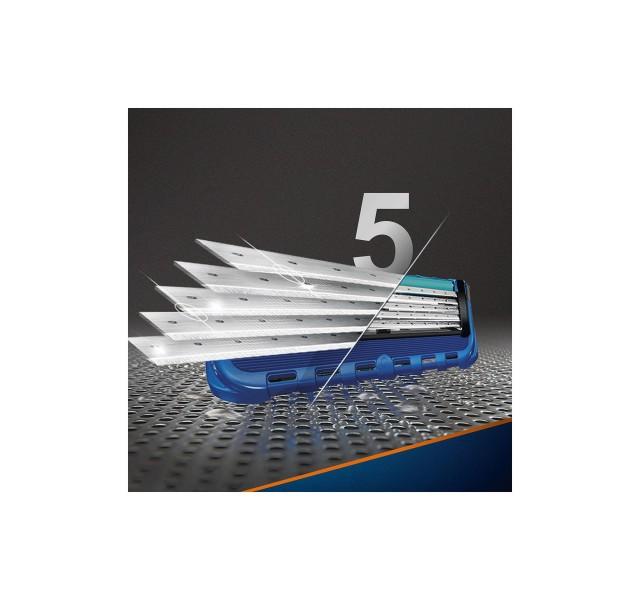 خود تراش ژیلت فیوژن پروگلاید فلکس + 5 تیغ قابل تعویض