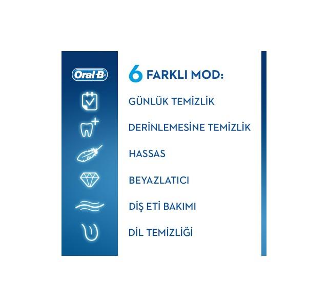 مسواک برقی اورال بی مدل جنیوس Genius 10000 N