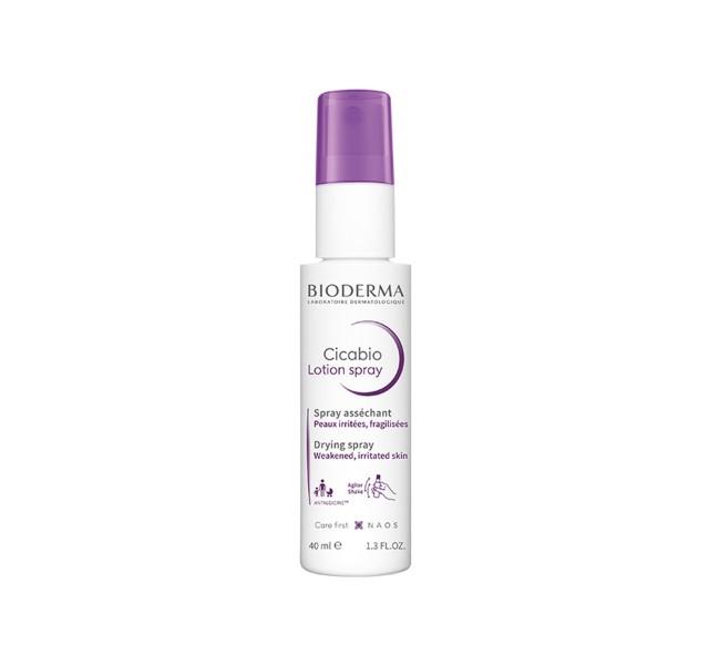 اسپری لوسیون سیباکو بایودرما - Bioderma Cicabio Spray 40 ml