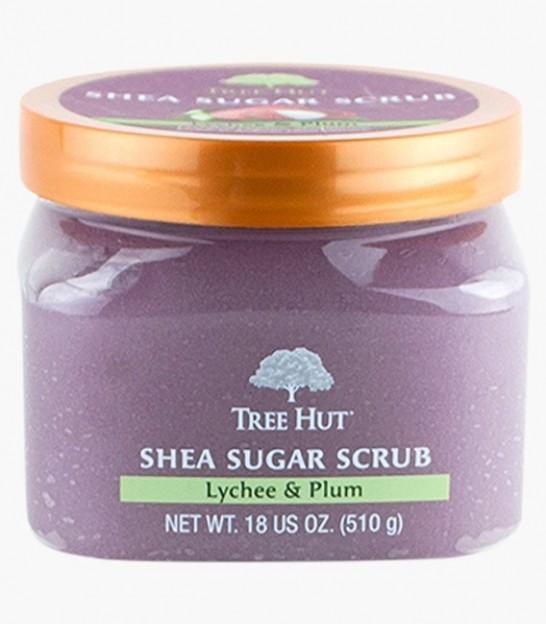 اسکراب بدن تری هات Tree Hut Lychee & Plum Shea Sugar Scrub