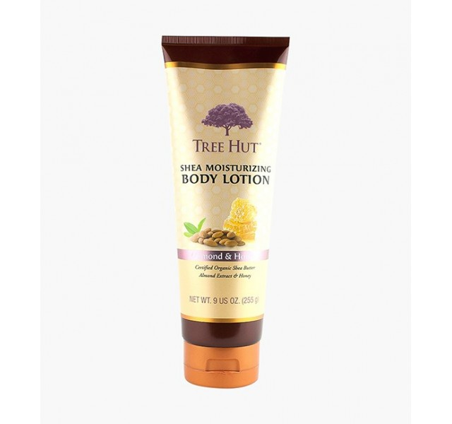 لوسیون بدن تری هات Tree Hut Almond & Honey Shea Moisturizing Body Lotion