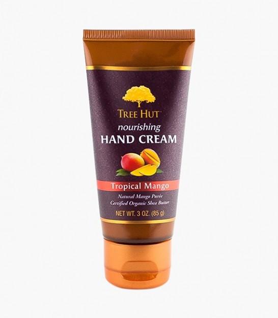 کرم مرطوب کننده دست تری هات Tree Hut Tropical Mango Nourishing Hand Cream