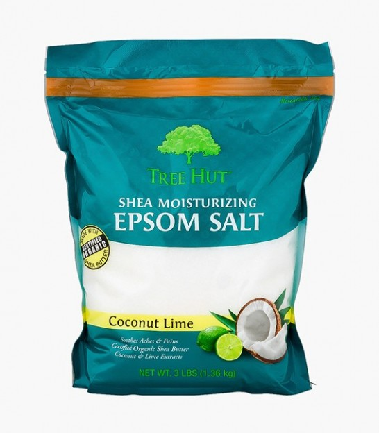 نمک اپسوم تری هات Tree Hut Coconut Lime Shea Moisturizing Epsom Salt