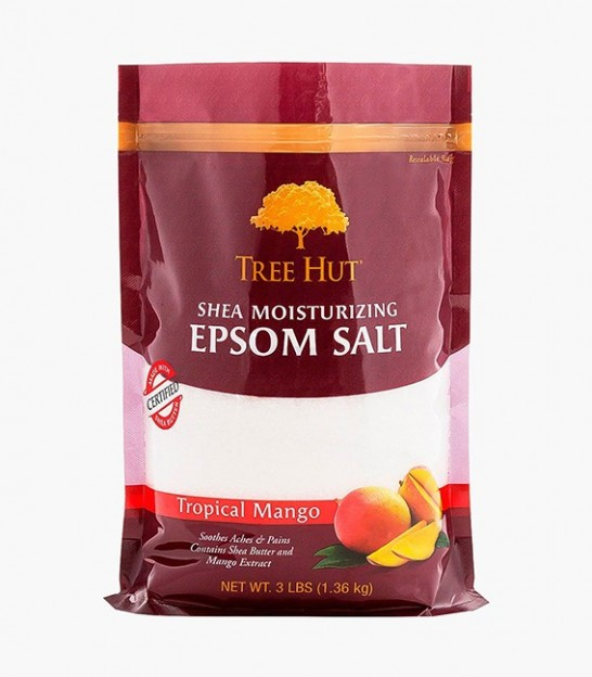 نمک اپسوم تری هات Tree Hut Tropical Mango Shea Moisturizing Epsom Salt