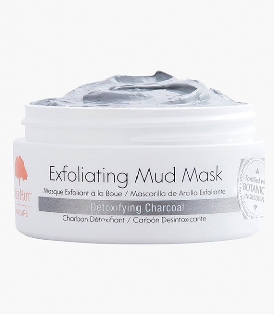ماسک لایه بردار صورت تری هات Tree Hut Skincare Exfoliating Mud Mask Detoxifying Charcoal