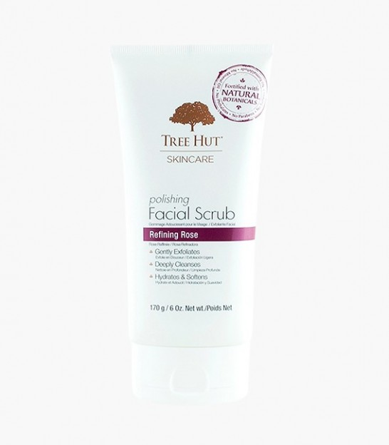 اسکراب صورت تری هات Tree Hut Skincare Polishing Facial Scrub Refining Rose
