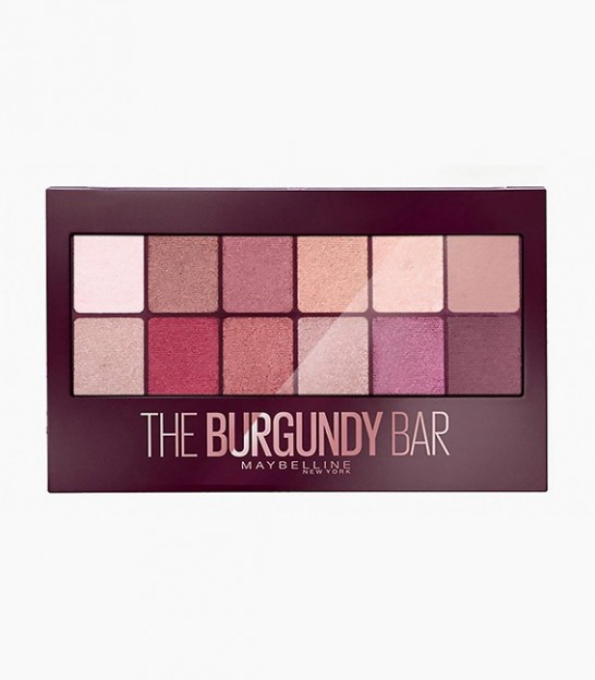 پالت سایه چشم میبلین Maybelline New York Burgundy Bar Eye Shadow Palette