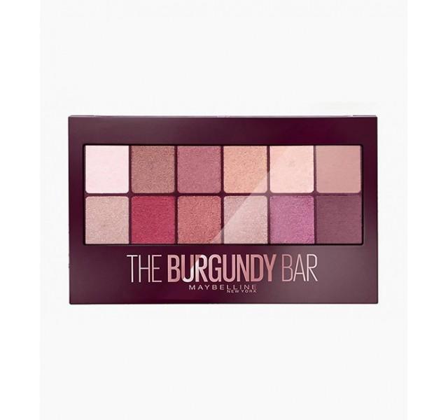 پالت سایه چشم میبلین Maybelline New York Burgundy Bar Eye Shadow Palette