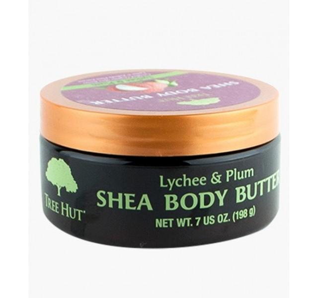لوسیون بدن تری هات Tree Hut Lychee & Plum Shea Body Butter