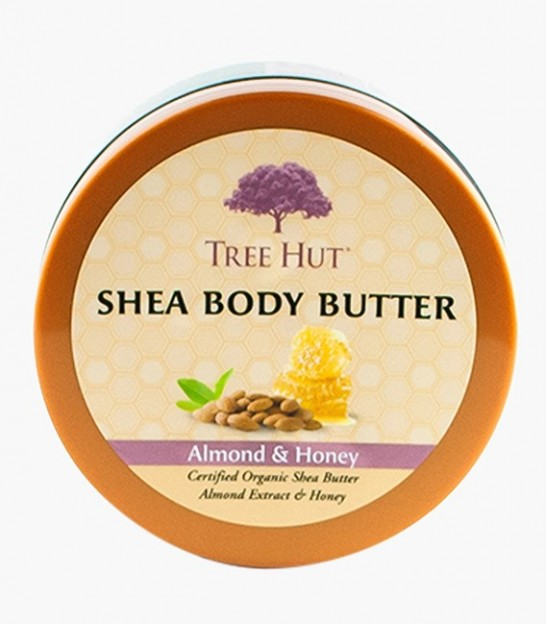 لوسیون بدن تری هات Tree Hut Almond & Honey Shea Body Butter