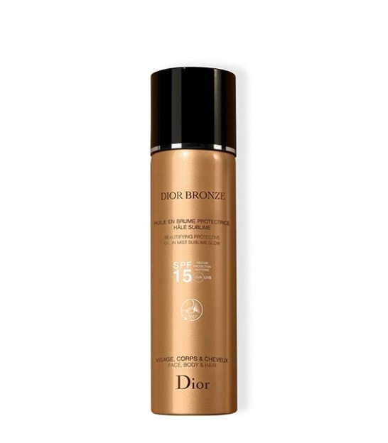 اسپری برنز کننده پوست دیور Dior Bronze Beautifying Protective Oil in Mist Sublime Glow