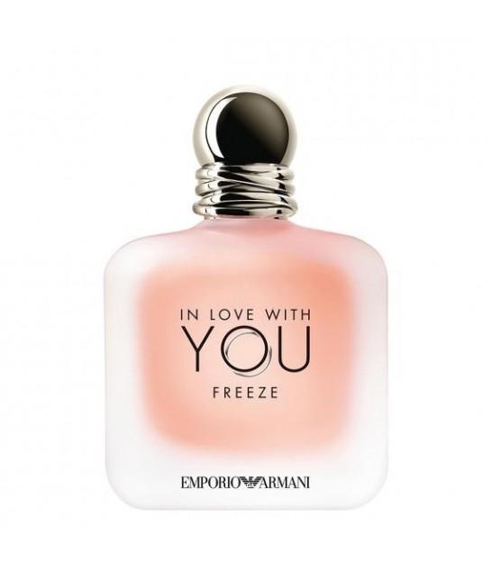 عطر زنانه جورجیو آرمانی این لاو ویت یو فریز GIORGIO ARMANI IN LOVE WITH YOU FREEZ