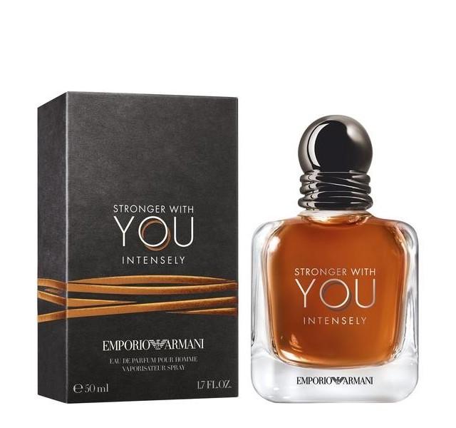 عطر مردانه جورجیو آرمانی امپریو استرانگر ویت یو اینتنسلی EMPORIO STRONGER WITH YOU EDP INTENSELY
