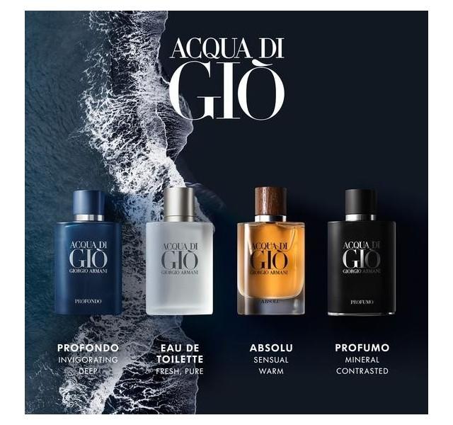 عطر مردانه جورجیو آرمانی آکوادا دی جیو پروفوم GIORGIO ARMANI ACQUA DI GIO PROFUMO