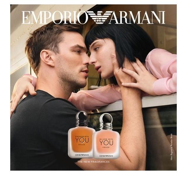 عطر مردانه جورجیو آرمانی استرانگر ویت یو فریز GIORGIO ARMANI STRONGER WITH YOU FREEZE