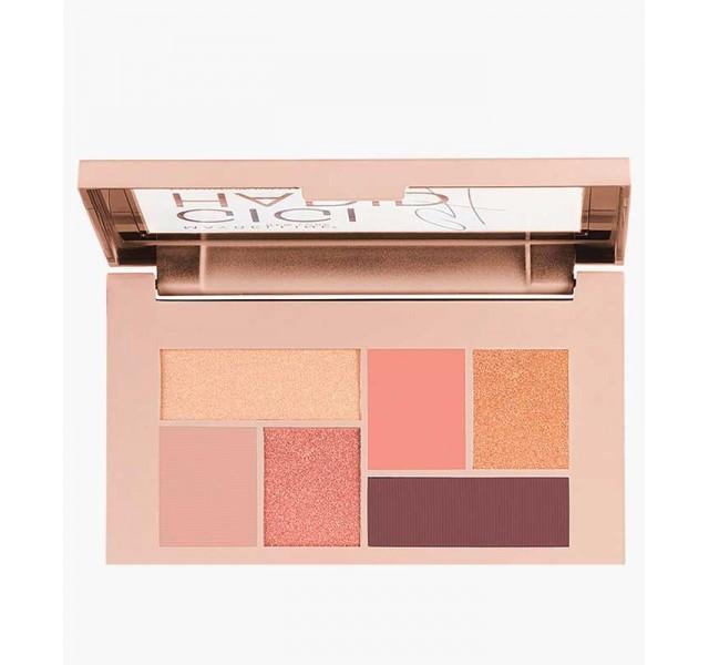 پالت چشم Maybelline مدل Gigi Hadid Eyeshadow Palette رنگ گرم
