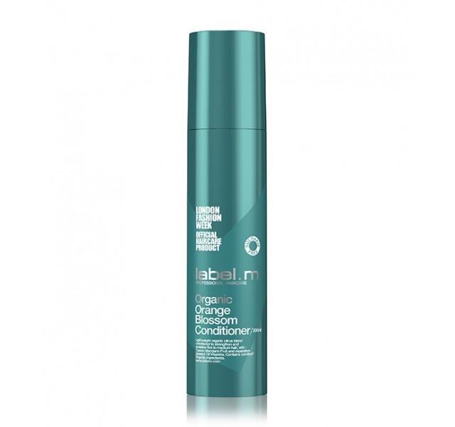 نرم کننده حجم دهنده طبیعی مو با عصاره پرتقال لیبل ام مدل Organic Orange Blossom Conditioner