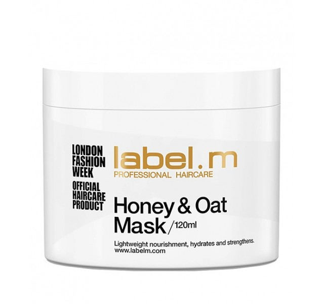 ماسک درمانی عسل و جو لیبل ام Honey & Oat Mask