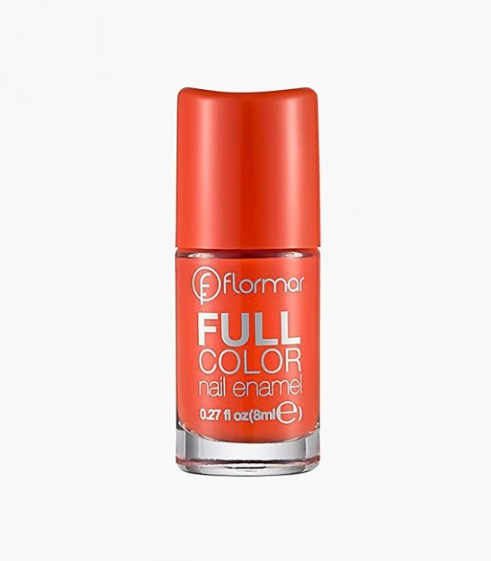 لاک براق فلورمار flormar Full Color Nail Polish