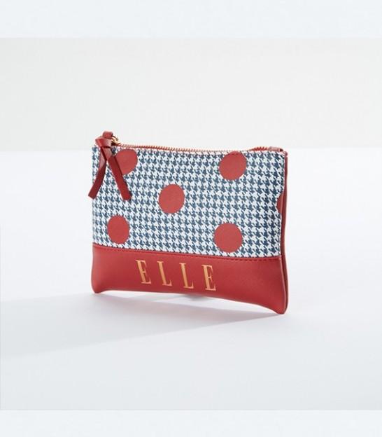 کیف لوازم آرایش طرحدار اله ELLE Polka Dot Printed Pouch
