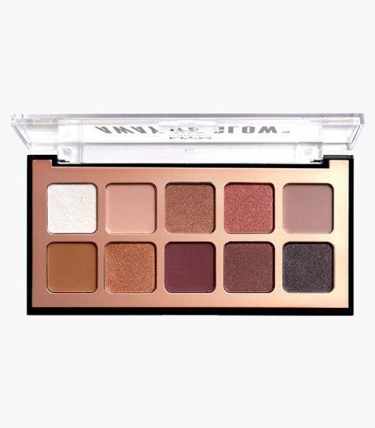 پالت سایه چشم نیکس NYX Professional Makeup Away We Glow Shadow Palette