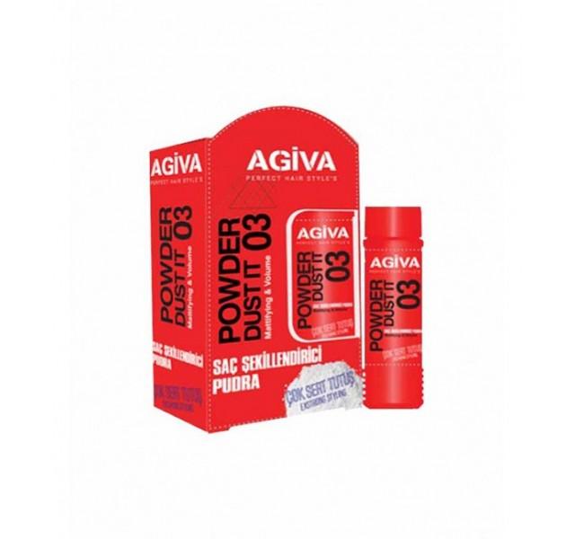 پودر حالت دهنده مو آگیوا AGIVA Powder Dust It
