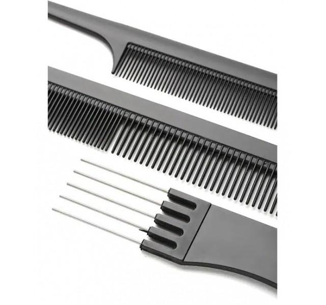 ست 10 تایی شانه آرایشگاهی برند شین