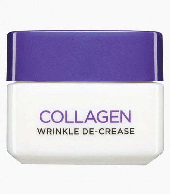 کرم کلاژن روزانه لورال L'Oreal Collagen Wrinkle De-Crease Day Cream