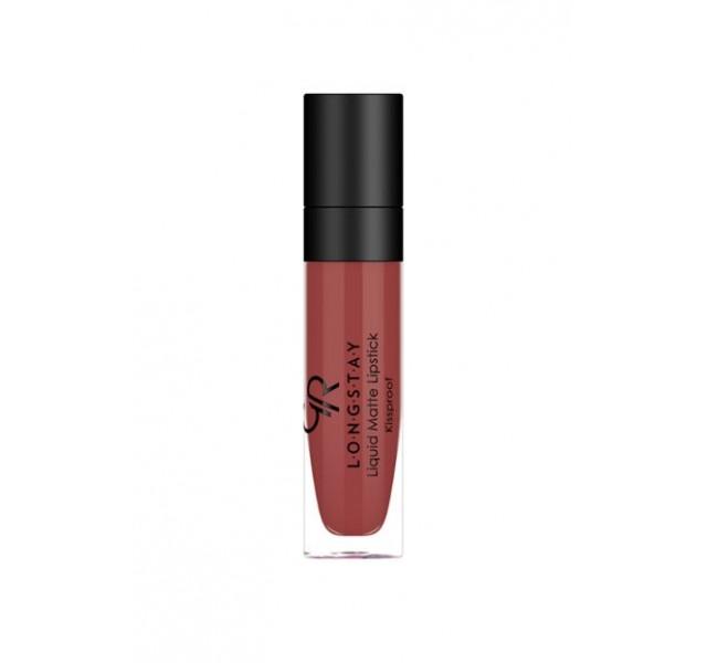 رژ لب مایع مات ماندگار گلدن رز Long Lasting Liquid Matte Lipstick