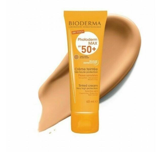 کرم ضد آفتاب بایودرم SPF 50 مناسب پوست های حساس