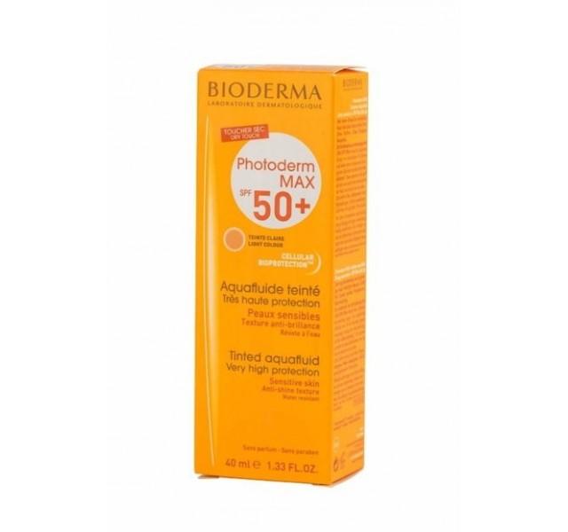 کرم ضدآفتاب رنگی بایودرما SPF 50 مناسب پوست های حساس