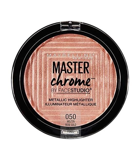 هایلایتر مستر کروم میبلین مدل Master Chrome Metallic Highlighter