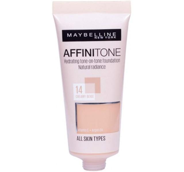 فاندیشن میبلین مدل Maybelline Affinitone Foundation Light Porcelain