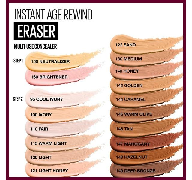 کانسیلر میبلین مدل Maybelline Instant Age Eraser