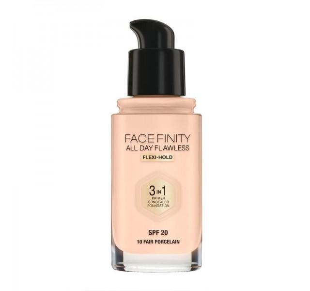 فاندیشن مکس فکتور 30 میل مدل Max factor Foundation FaceFinity All Day Flawless