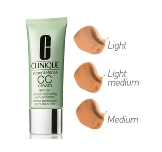 سی سی کرم کلینیک Spf 30 مدل Clinique Skin Tone Regulator CC Cream Superdefense