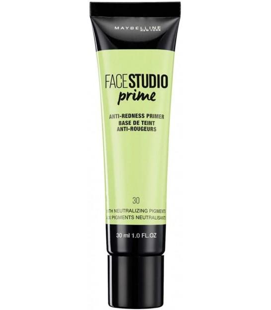 پرایمر ضد قرمزی میبلین مدل Maybelline Anti-Redness Makeup Base