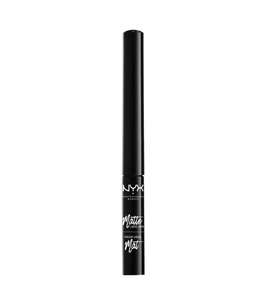 خط چشم نیکس NYX Professional Makeup Black Liquid Matte Eyeliner