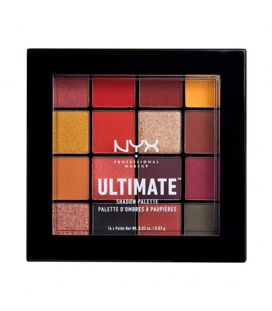 پالت سایه 16 رنگ نیکس NYX Ultimate Eyeshadow Palette