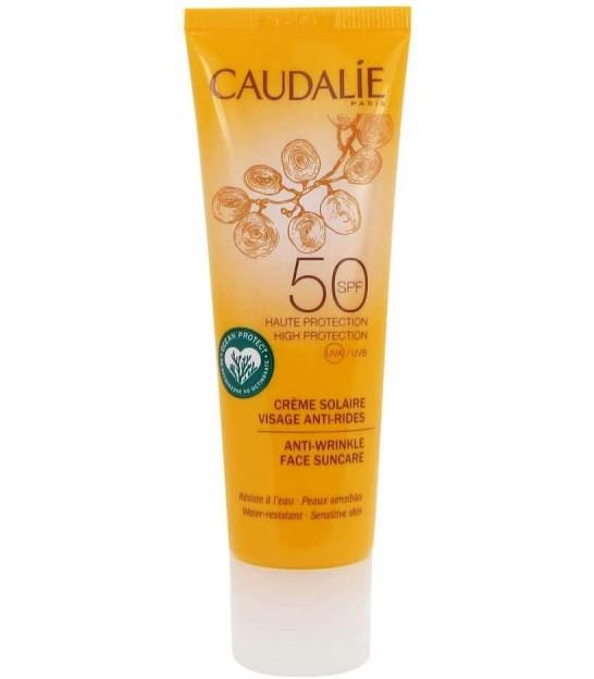 ضد آفتاب ضد چروک کدلی Caudalie Sunscreen Anti Wrinkle Spf 50