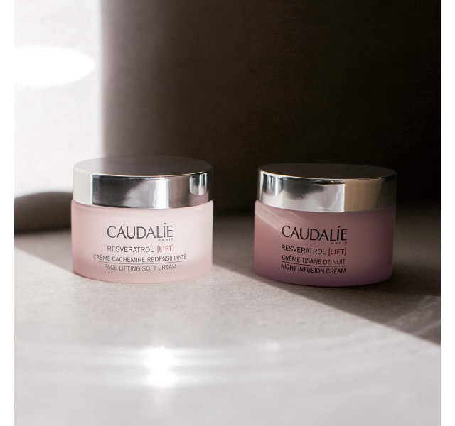 کرم شب لیفت کننده کدلی Caudalie Resveratrol Lift Night Infusion Night Cream