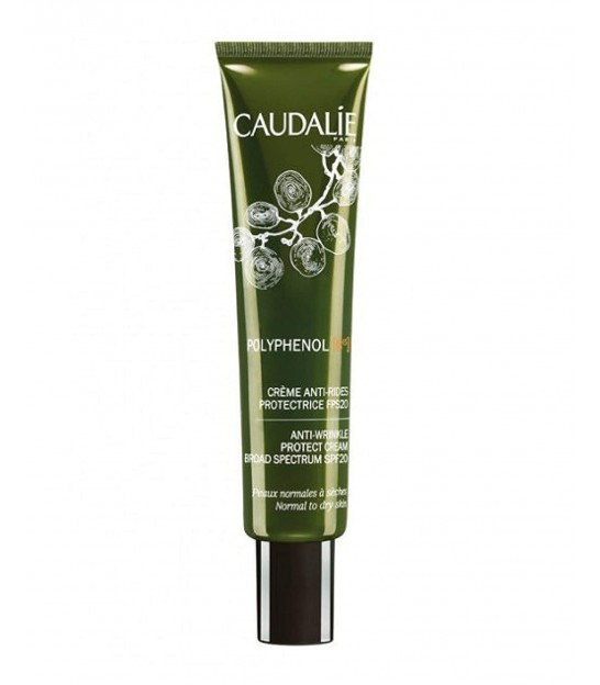 کرم ضد چروک کدلی Caudalie Polyphenol C15 Anti-Wrinkle Protect Cream