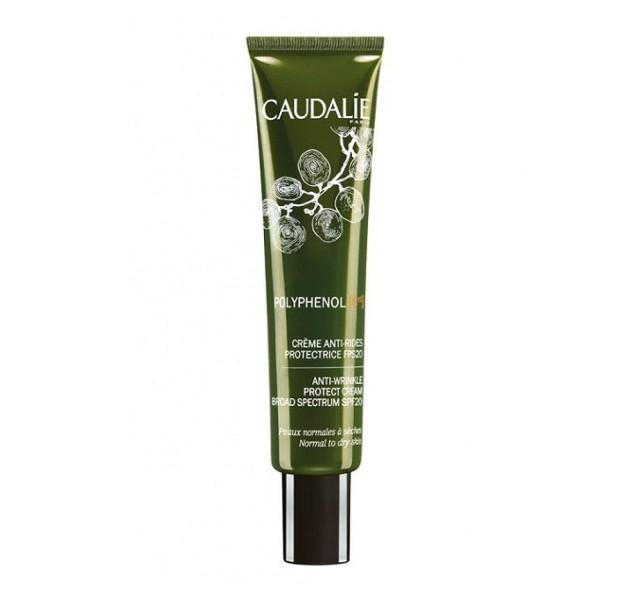 کرم ضد چروک کدلی Caudalie Polyphenol C15 Anti-Wrinkle Protect Cream