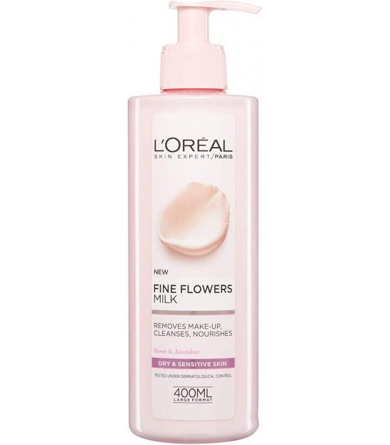 ژل شستشوی صورت لورال مخصوص پوست حساس L'Oreal Paris Rare Flower Cleansing Gel Cream