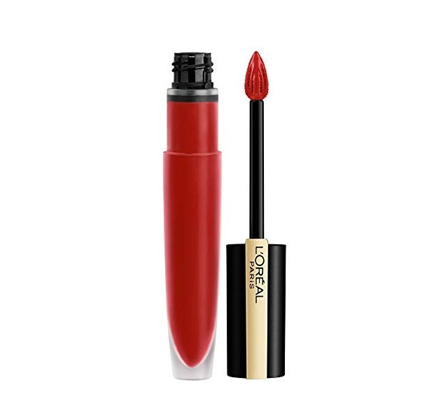 رژ لب مایع مات لورال L'Oreal Paris Liquid Matte Lipstick Rouge Signature