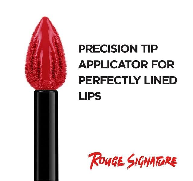 رژ لب مایع مات لورال L'Oreal Paris Liquid Matte Lipstick Rouge Signature