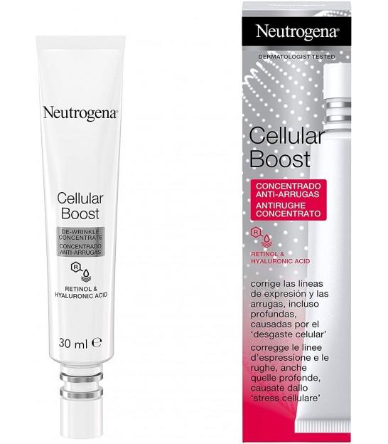 کرم دور چشم ضد چروک نوتروژینا Neutrogena Cellular Boost Anti wrinkle concentrate